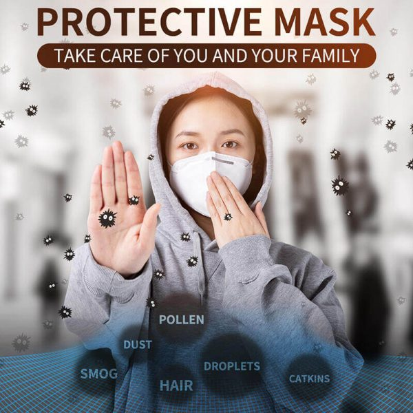 N95 Medical Anti-Virus Respirator Face Mask KN95 Protective Surgical Masks 01